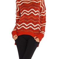 Wavy Knit Sweater - 2020AVE