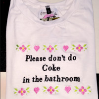 SWEET LORD O'MIGHTY! PLEASE DONT DO COKE CROP TEE