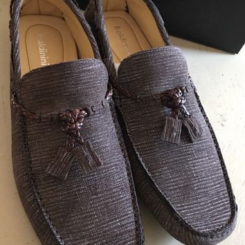 New Baldinini Men's Driver/Moccasins Shoes Brown 8 US ( 41 Eu ) Italy