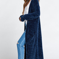 Charlize Duster ~ Navy Chenille
