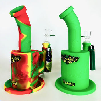 """Waxmaid Silicone Water Pipe (9"""")"""