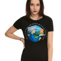 Her Universe Studio Ghibli Howl's Moving Castle Quote Girls T-Shirt