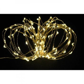 30 Led Copper String Light - Warm White