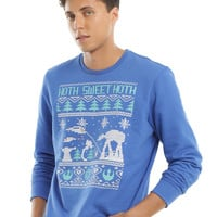 Star Wars Hoth Sweet Hoth Fair Isle Crewneck Sweatshirt