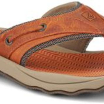 Sperry Top-Sider Outer Banks Thong Sandal Orange, Size 7M  Men's Shoes