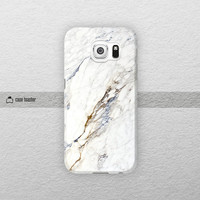 White marble - Samsung Galaxy S6 case, Galaxy Note 4 case, Galaxy S5 case, Galaxy Note 3 case, Galaxy S4 case, Samsung case