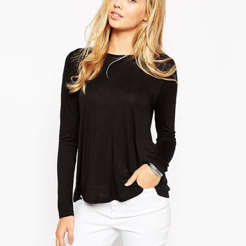 ASOS Long Sleeve Swing Top