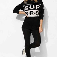 UNIF Sup Bro Sweater- Black S