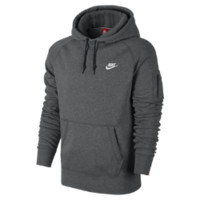 Nike Ace Fleece Pullover Men's Hoodie - Charcoal Heather
