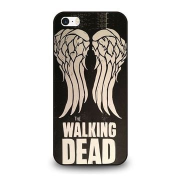 walking dead daryl dixon wings iphone se case cover  number 1