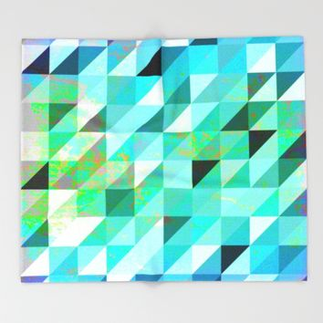 In and Out Throw Blanket by Miss L In Art