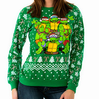 Radical Teenage Mutant Ninja Turtle Holiday Sweater