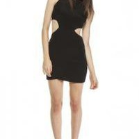 Cut out dress-black - Naven