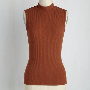 Panache With Care Top in Marmalade | Mod Retro Vintage Short Sleeve Shirts | ModCloth.com