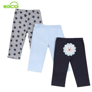 3 pieces/lot Baby Pants Cotton Autumn Lovely infant pants Newborn baby boy trousers Baby Clothing 0-12 Months Baby girl pants