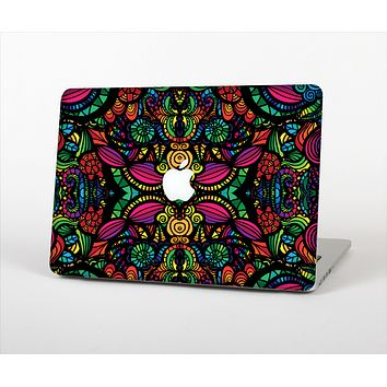 "The Neon Colored Vector Seamless Pattern Skin Set for the Apple MacBook Pro 13"" with Retina Display"