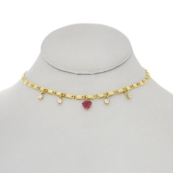 Princess Peach Choker