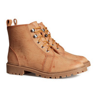 H&M - Boots - Beige - Ladies