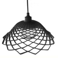 Modern Silica Gel Net Model Lamp Black - Wonderful Lights