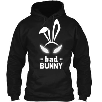 Bad Bunny Custom T Shirt Cute and funny bunny Easter bunny Pullover Hoodie 8 oz