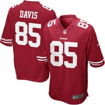 Vernon Davis San Francisco 49ers NFL Nike Jersey NWT Niners new with tags SF