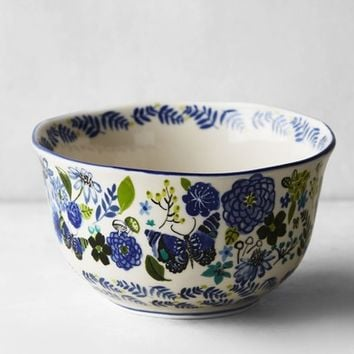 Anthropologie Wing & Petal Stoneware Bowl | Nordstrom