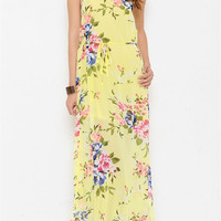 Midsummer Rosebuds Maxi Dress