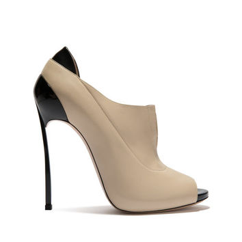 Pumps Techno Blade in patent Calf Leather Ecrù | Casadei