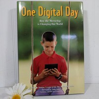 One Digital Day Book How The Microchip is Changing Our World Large Coffeetable Style Book Documentary Photography Microprocessors Technology
