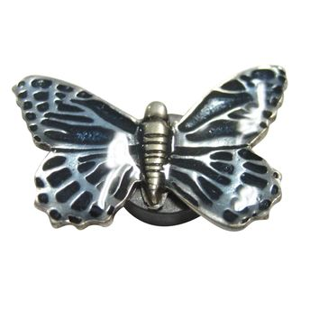 Blue Butterfly Insect Magnet