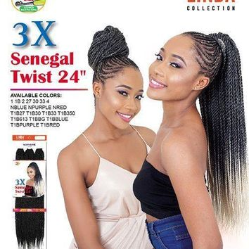 "SUPREME 3X SENEGAL TWIST BRAID 24"" (2 PACK DEAL)"