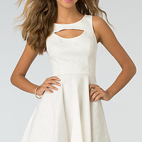 Short High Neck Cocktail Dress by XOXO