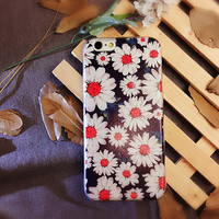 Daisy Flower Cute Case for iPhone