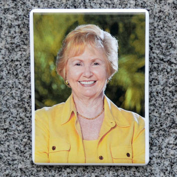 Personalized Ceramic Headstone Photo - Rectangular