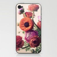 Ranunculus iPhone & iPod Skin by elle moss   Society6