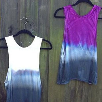 Ombre Muscle Tank