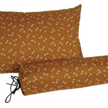 J-Life Sakura Gold Buckwheat Hull Pillow