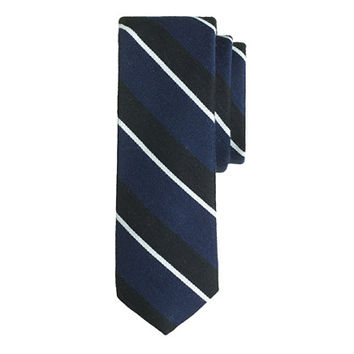 J.Crew Mens English Wool-Silk Tie In Mixed Stripe