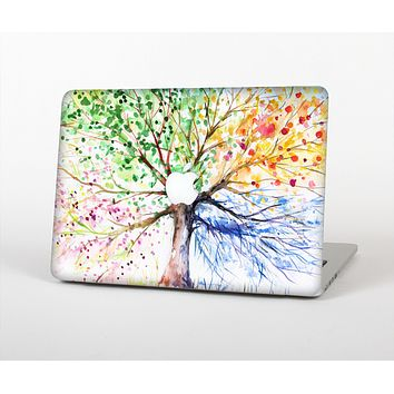 "The WaterColor Vivid Tree Skin Set for the Apple MacBook Pro 15"" with Retina Display"