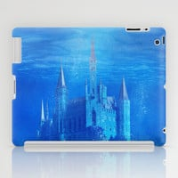 Underwater place iPad Case by Viviana González