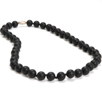 Chewbeads Jane Teething Necklace - Black