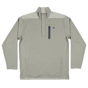 FieldTec™ Ridgeway Performance Pullover in Sandstone by Southern Marsh