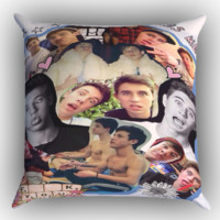 Cameron Dallas college Zippered Pillows  Covers 16x16, 18x18, 20x20 Inches