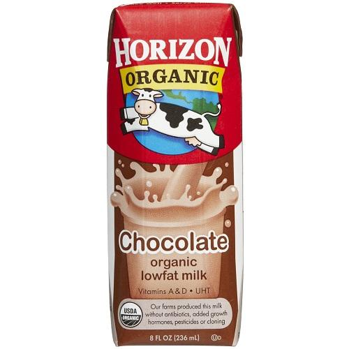 Organic chocolate milk powder