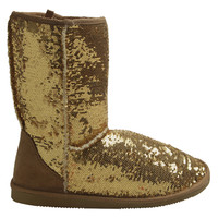 Sequin Most Wanted Boot | Shop Just Arrived at Wet Seal