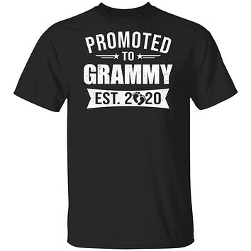 Vintage Promoted to Grammy Est 2020 First New Grandma Gift