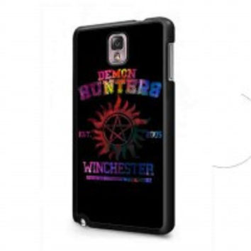 supernatural demon hunters galaxy for samsung galaxy note 3 case