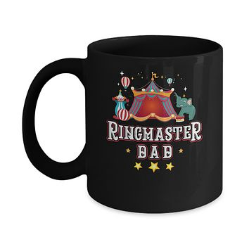 Ringmaster Dad Circus Carnival Children Party Mug