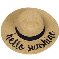 Hello Sunshine Hat