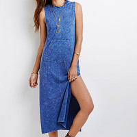 Mineral Wash Hooded Dress